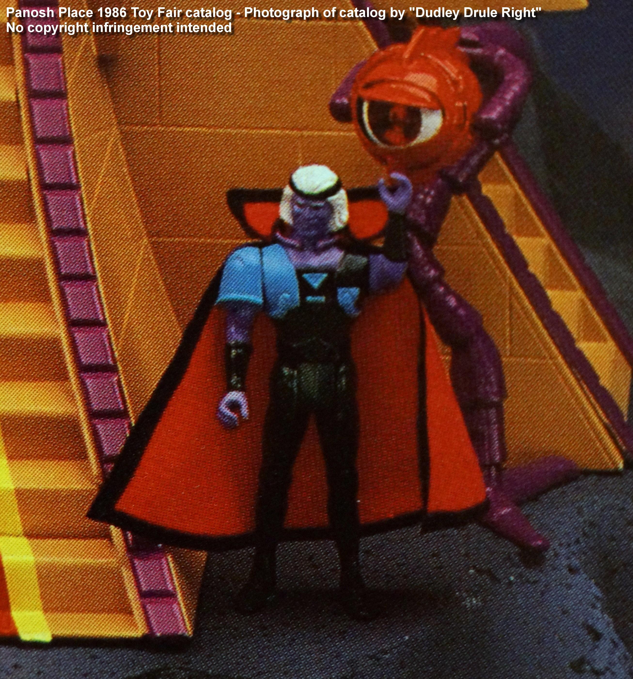 Panosh Place 1986 Toy Fair Catalog - Page 27 (Voltron Hazar action figure)