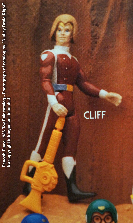Panosh Place 1986 Toy Fair Catalog - Page 28 (Voltron Cliff action figure)