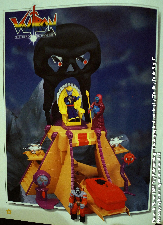 Panosh Place 1986 Toy Fair Catalog - Page 38 (Voltron Castle of Doom)