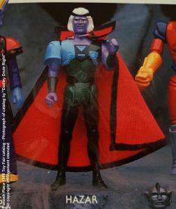 Panosh Place 1986 Toy Fair Catalog - Page 31 (Voltron Hazar action figure)