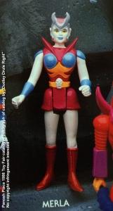 Panosh Place 1986 Toy Fair Catalog - Page 31 (Voltron Merla action figure)