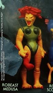 Panosh Place 1986 Toy Fair Catalog - Page 31 (Voltron Robeast Medusa action figure)