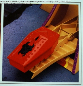 Panosh Place 1986 Toy Fair Catalog - Page 39 (Voltron Castle of Doom launching pad)