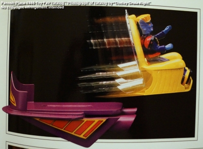 Panosh Place 1986 Toy Fair Catalog - Page 39 (Voltron Castle of Doom throne two-stage escape vehicle)