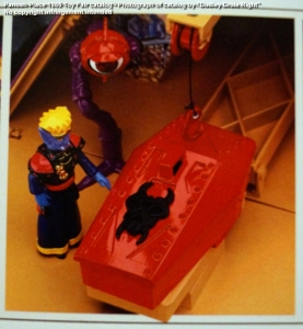 Panosh Place 1986 Toy Fair Catalog - Page 39 (Voltron Castle of Doom Haggar's lab with crystal eyeball)